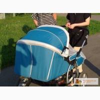 Две двухместные коляски (лето и зима) GEOBY, Б/У