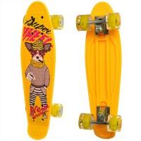 Скейт Penny board с рисунком MS 0749-8, 55x14, 5 см, до 50 кг