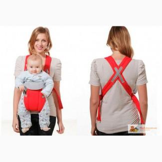 Рюкзак кенгуру с капюшоном для деток, крепление поясница-пояс для распределения веса