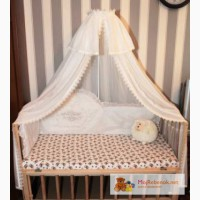 Эксклюзивные балдахины и бортики в детскую кроватку