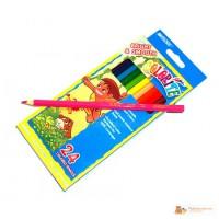 В наличии карандаши 24цвета Colorite 1100-24CB MARCO