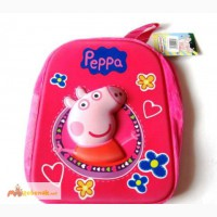Рюкзак Свинка Пеппа (Peppa), объемный - 76 грн