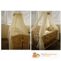 Балдахин для детской кроватки 4 части
