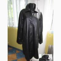 Большая женская кожаная куртка - плащ Collection. Лот 225. НОВАЯ