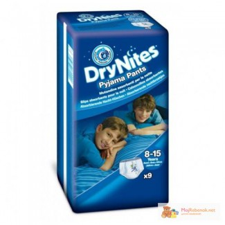 Подгузники-трусики Хаггис Huggies DryNites. Доставка Киев