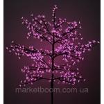 Светодиодное дерево с вазоном БОНСАЙ 60 см(белый)