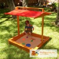 Песочница с крышкой, детская песочница, песочница для детей
