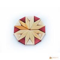 Подставка под чашку деревянная