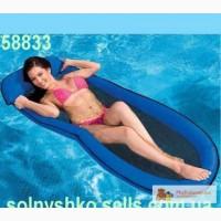 Пляжный сетчатый надувной матрас - гамак Intex 58833