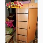 Кровать-чердак с рабочей зоной и угловым шкафом (к11) Merabel