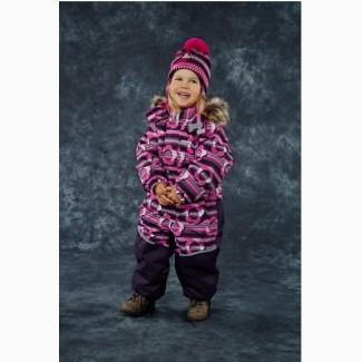Распродажа. Зимний комбинезон для девочек Lenne. Размеры 104 и 116