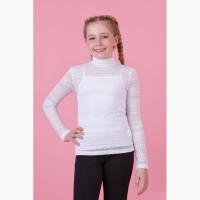 Комплект для девочки(майка+блуза) 64-8024-1 zironka рост 116, 122, 128, 134, 140, 146, 152