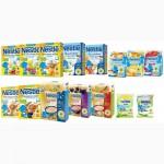 Молочные каши Nestle и безмолочные каши нестле, смеси