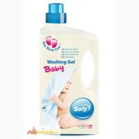 Гель для стирки детских вещей Saly Baby gel Azur (1, 5 л.)