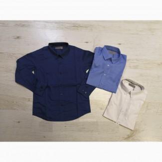 Рубашки для мальчиков Glo-Story 110, 120, 130, 140, 150, 160. Венгрия
