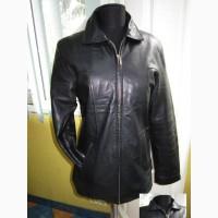 Стильная женская кожаная куртка. Лот 227