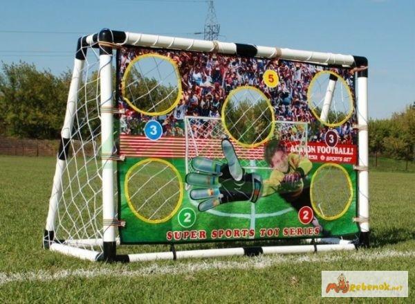 Футбольные ворота для детей и аксессуары арт HF548
