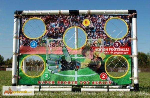 Фото 4. Футбольные ворота для детей и аксессуары арт HF548