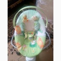 Дитячий шезлонг-качалка