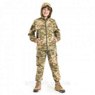 Детский камуфляж костюм для мальчиков Скаут цвет Пиксель