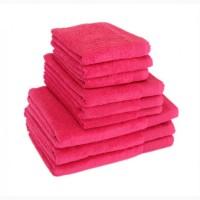 Полотенце махровое Terry Lux, Style 500, микрокотон, цвет красный