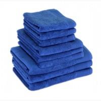 Полотенце махровое Terry Lux, Style 500, микрокотон, цвет синий