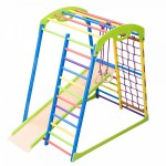 Детский спортивный уголок, игровой спорткомплекс Sport Kroha mini для раннего развития