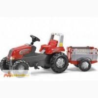 Педальный трактор с прицепом Rolly Toys 800261
