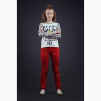 В наличии брюки для девочки 2221-21 zironka рост 122, 128, 134