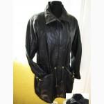 Cтильная женская кожаная куртка Echtes Leder. Vera Pelle. Италия. Лот 250