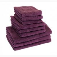 Полотенце махровое Terry Lux, Style 500, микрокотон, цвет баклажан