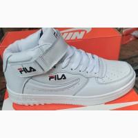 Подростковые детские есть кроссовки высокие FILA демисезонные прошитые c 34 по 44 р-р