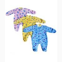 Комбинезон детский на заклёпках хлопок, гипоаллерген