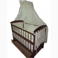 Акция! Кровать, матрас кокос, постель с защитой и балдахином. Новое