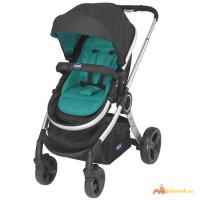 Chicco Urban Stroller with Chicco Keyfit Car Seat Adapter