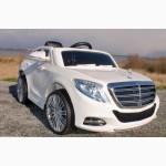 Детский электромобиль Mercedes Benz S600 белый