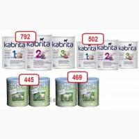 Лучшие цены на смеси на основе козьего молока Нэнни, Kabrita