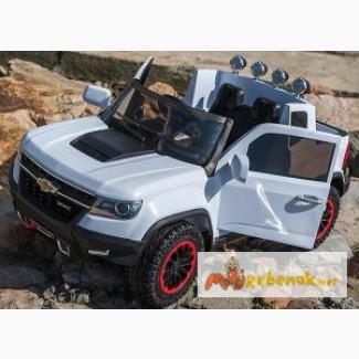 Детский электромобиль Chevrolet Colorado 1602 полный привод 4мотора
