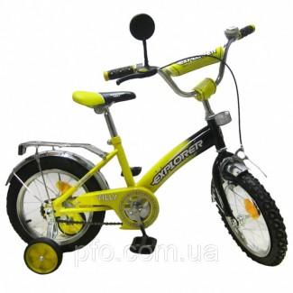 Велосипед EXPLORER жёлтый 14 новый