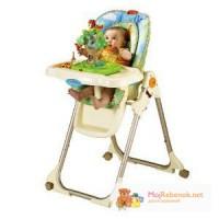 В НАЛИЧИИ, Новый стульчик для кормления Fisher-Price Rainforest Healthy Care High Chair (США).