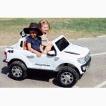 Детский электромобиль FORD RANGER F-150сидение кожа
