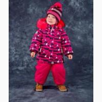 Распродажа. Зимний комплект для девочек Lenne. Размер 98
