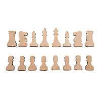 Продам шахматы из фанеры - заготовки под магнит