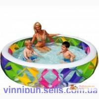 Продам детский надувной бассейн Intex 56494 Колесо