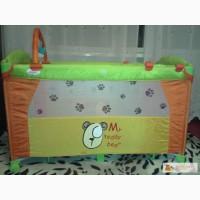 Манеж-кровать BABY CARE