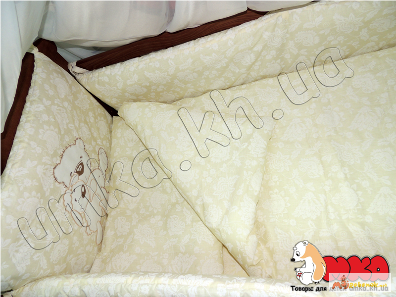 Фото 2. Жаккард с вышивкой комплект детского постельного белья bepino