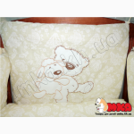 Жаккард с вышивкой комплект детского постельного белья bepino