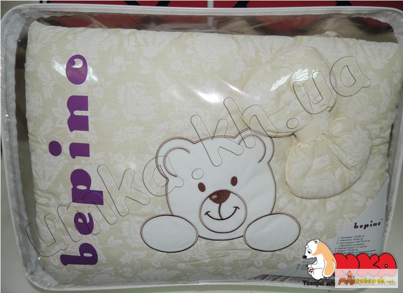 Фото 5. Жаккард с вышивкой комплект детского постельного белья bepino