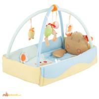 Развивающий коврик для детей, Коврик развивающий Quatro Giraffe