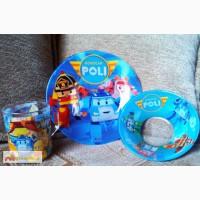 Поли Робокар Robo Car Poly Набор детской посуды